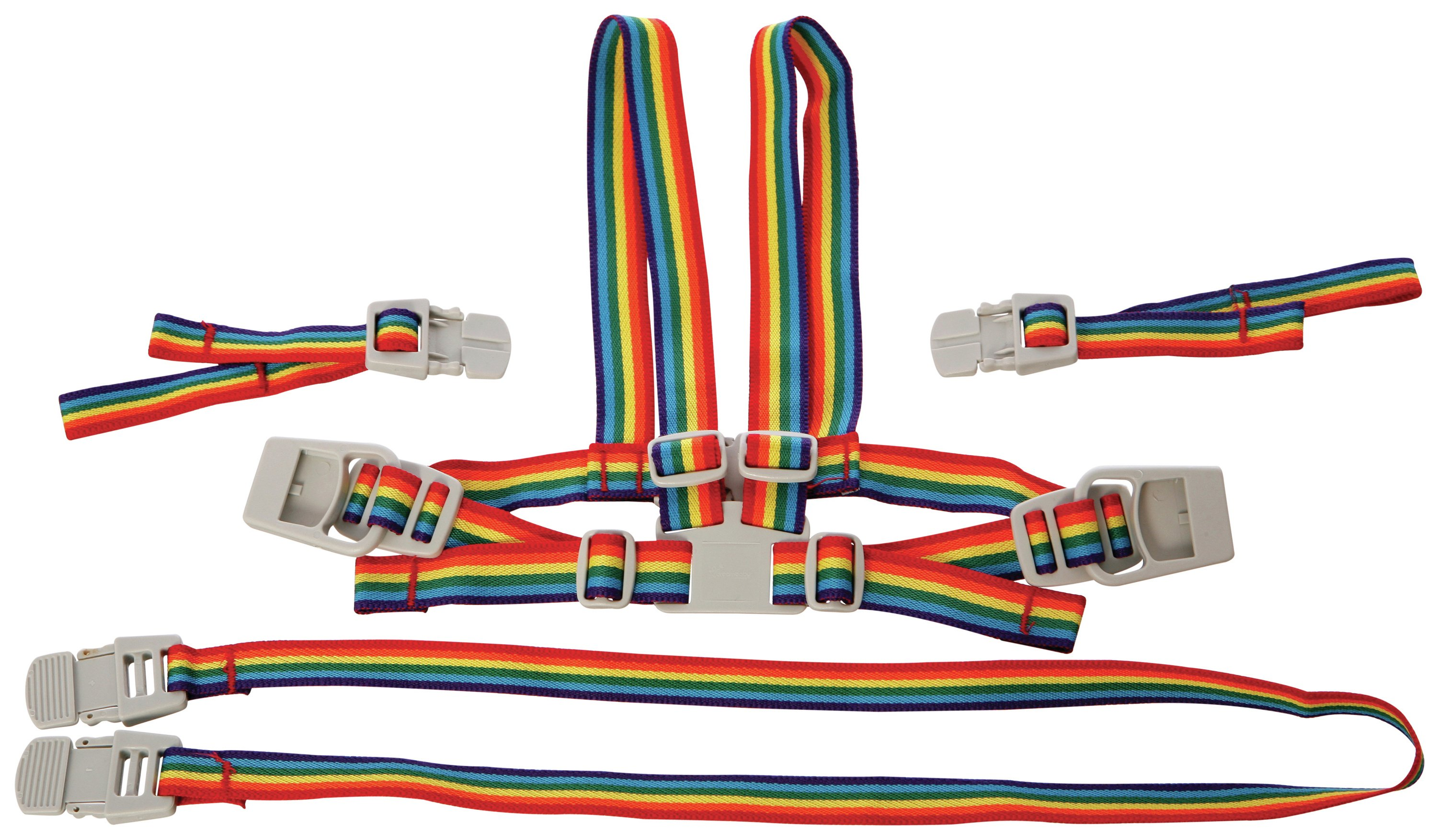 Image of Dreambaby Safety Harness And Reins - Rainbow