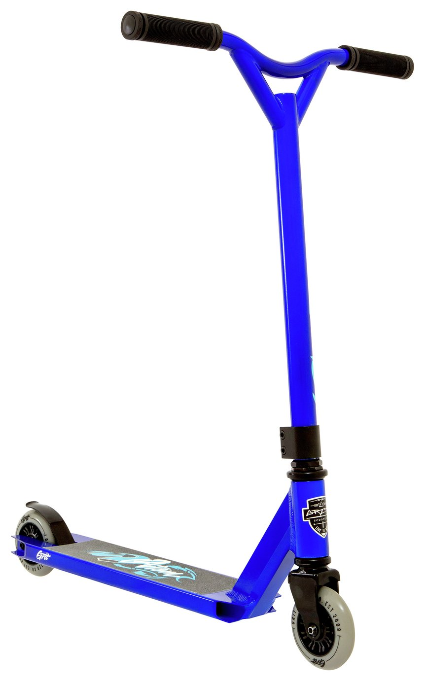 Image of Grit Atom Scooter - Blue.