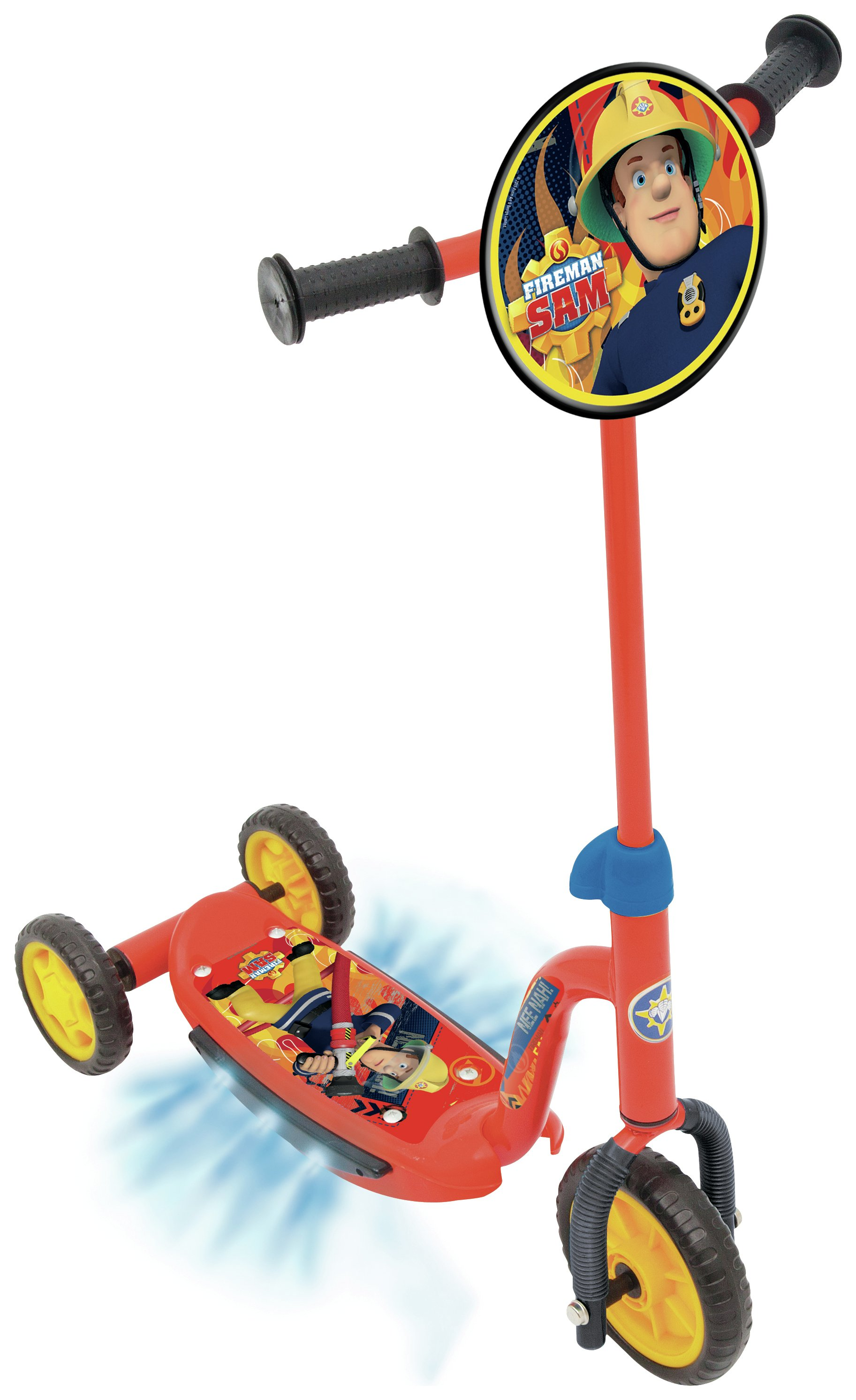 Image of Fireman Sam - Light Up Rescue Tri-Scooter