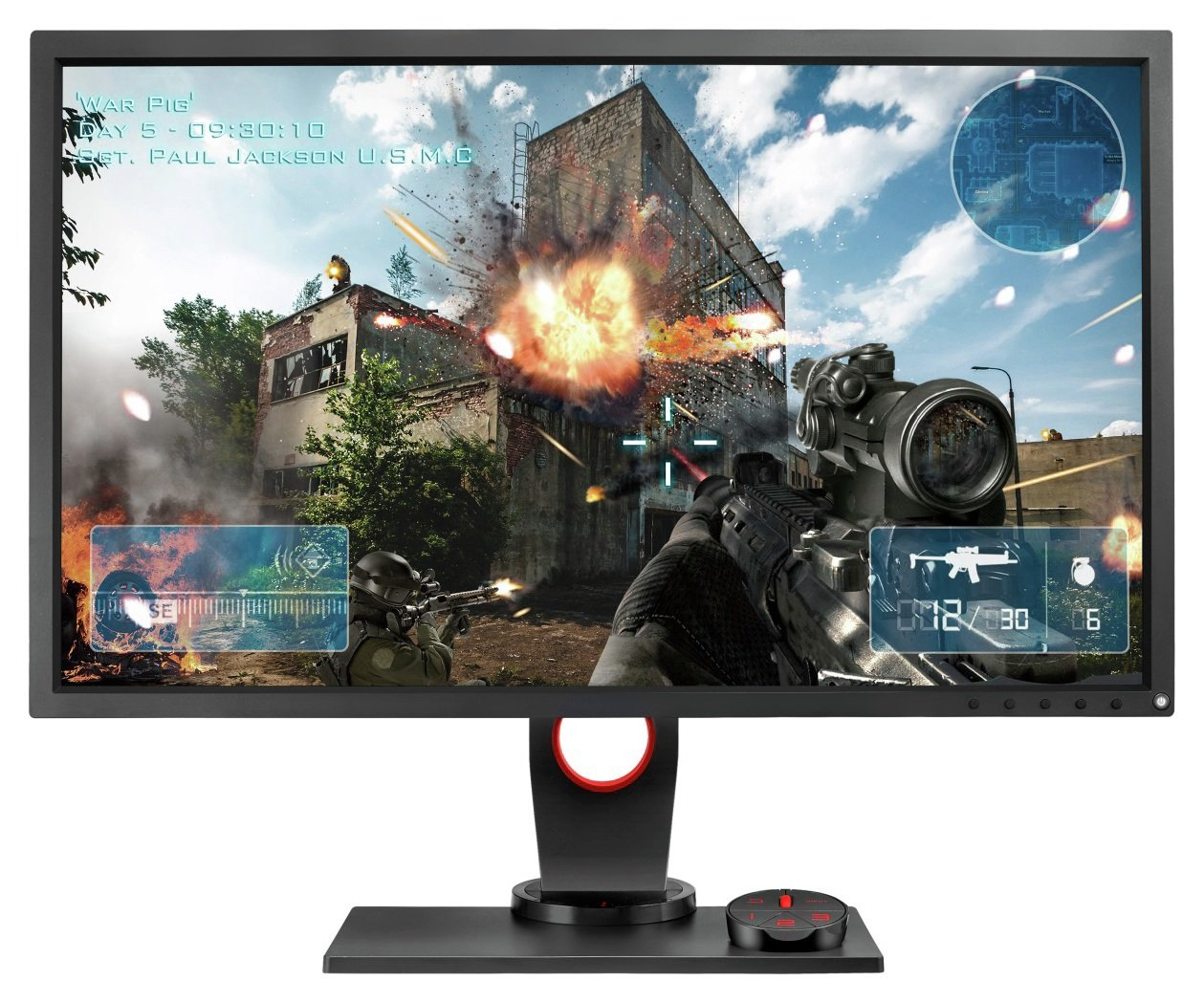 Image of BenQ Zowie XL2735 27 Inch Gaming PC Monitor.