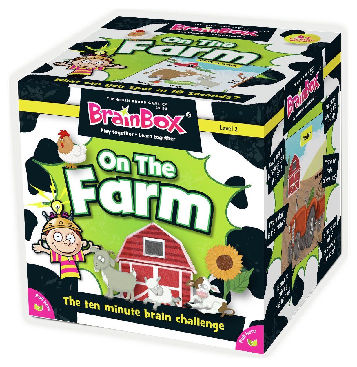 Image of Brainbox On the Farm Game.