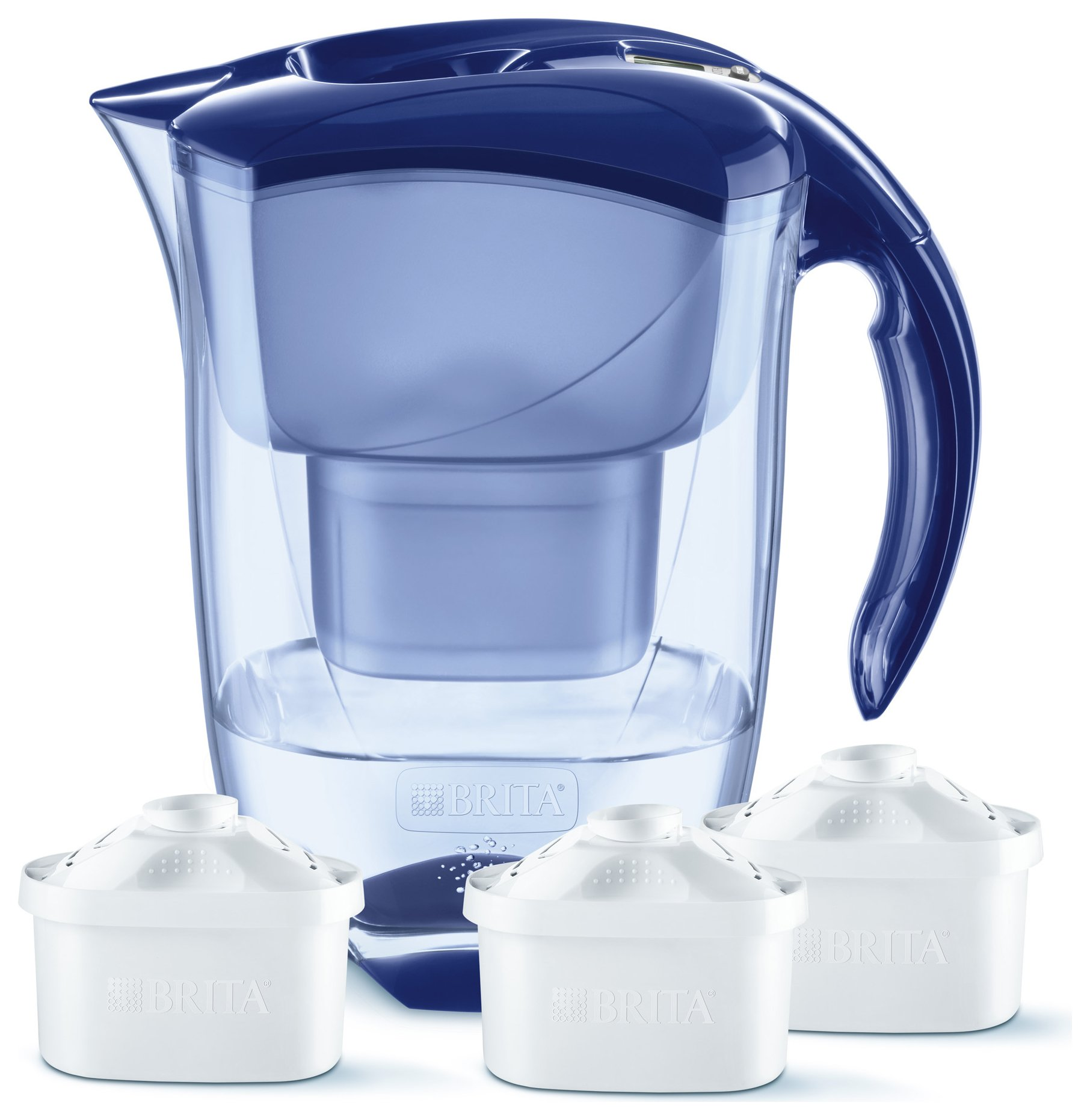 Image of BRITA - Elemaris Blue Jug Plus 3 Cartridges