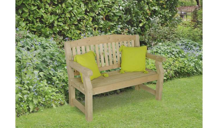 Stupendous Buy Forest Harvington Wooden 2 Seater Garden Bench Garden Benches And Arbours Argos Beatyapartments Chair Design Images Beatyapartmentscom