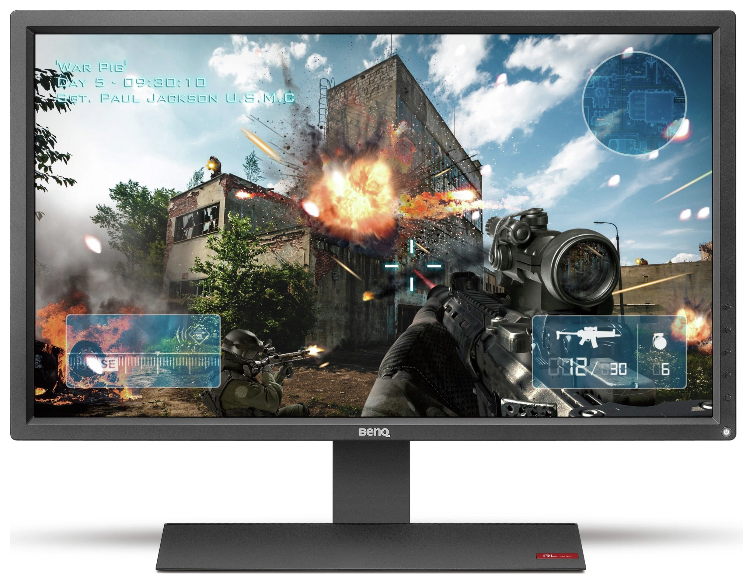 Image of BenQ Zowie RL2755 27 Inch Gaming PC Monitor.