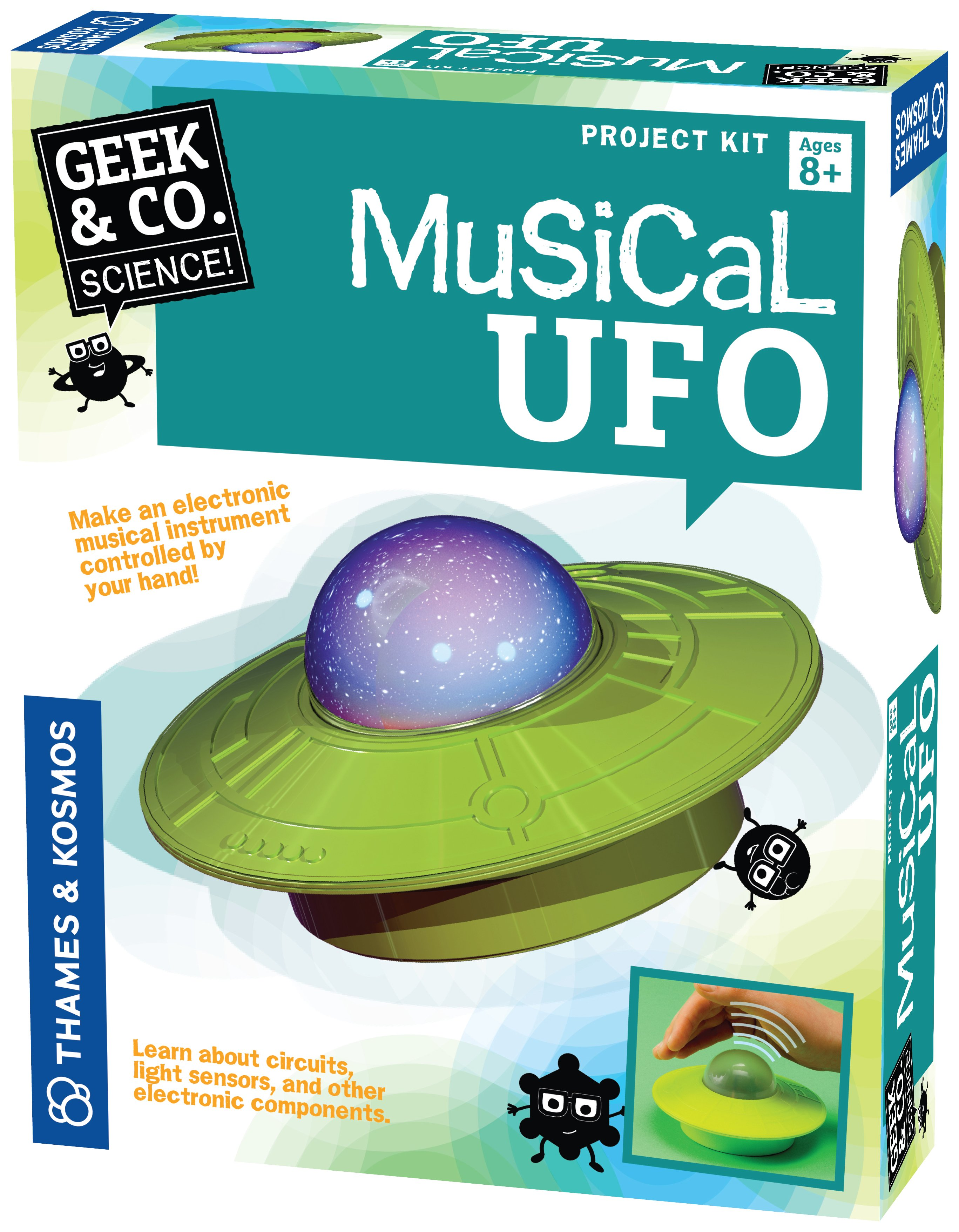 Image of Musical UFO Construction Set.