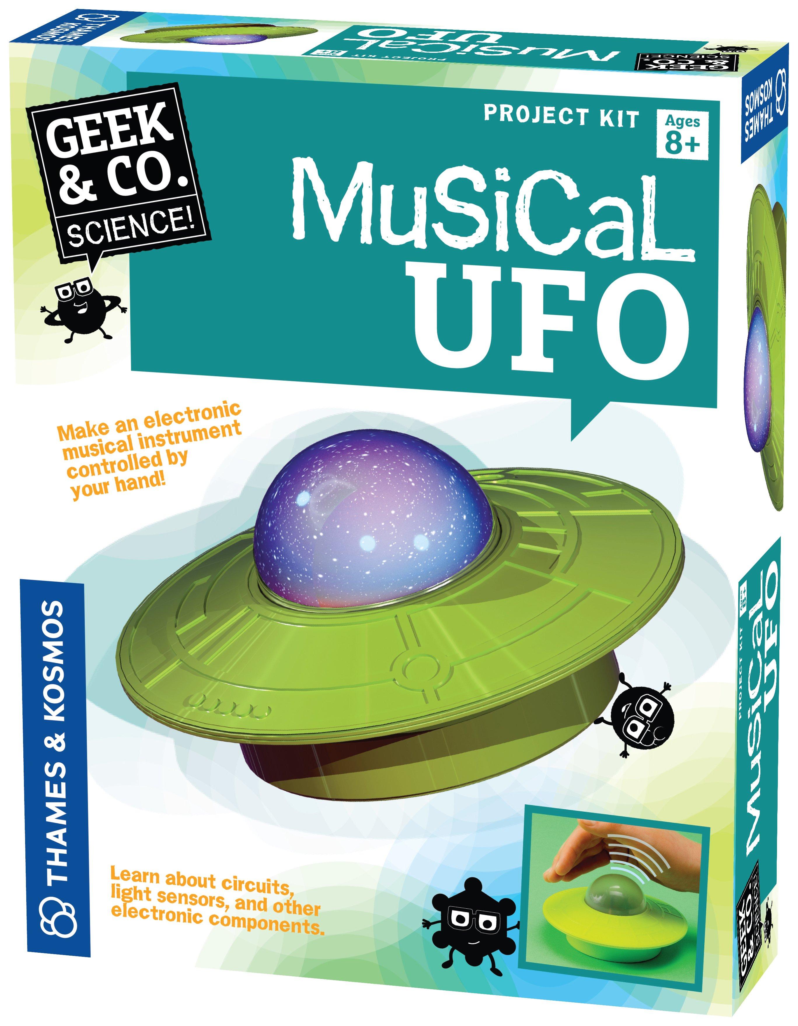 Image of Musical UFO Construction Set.