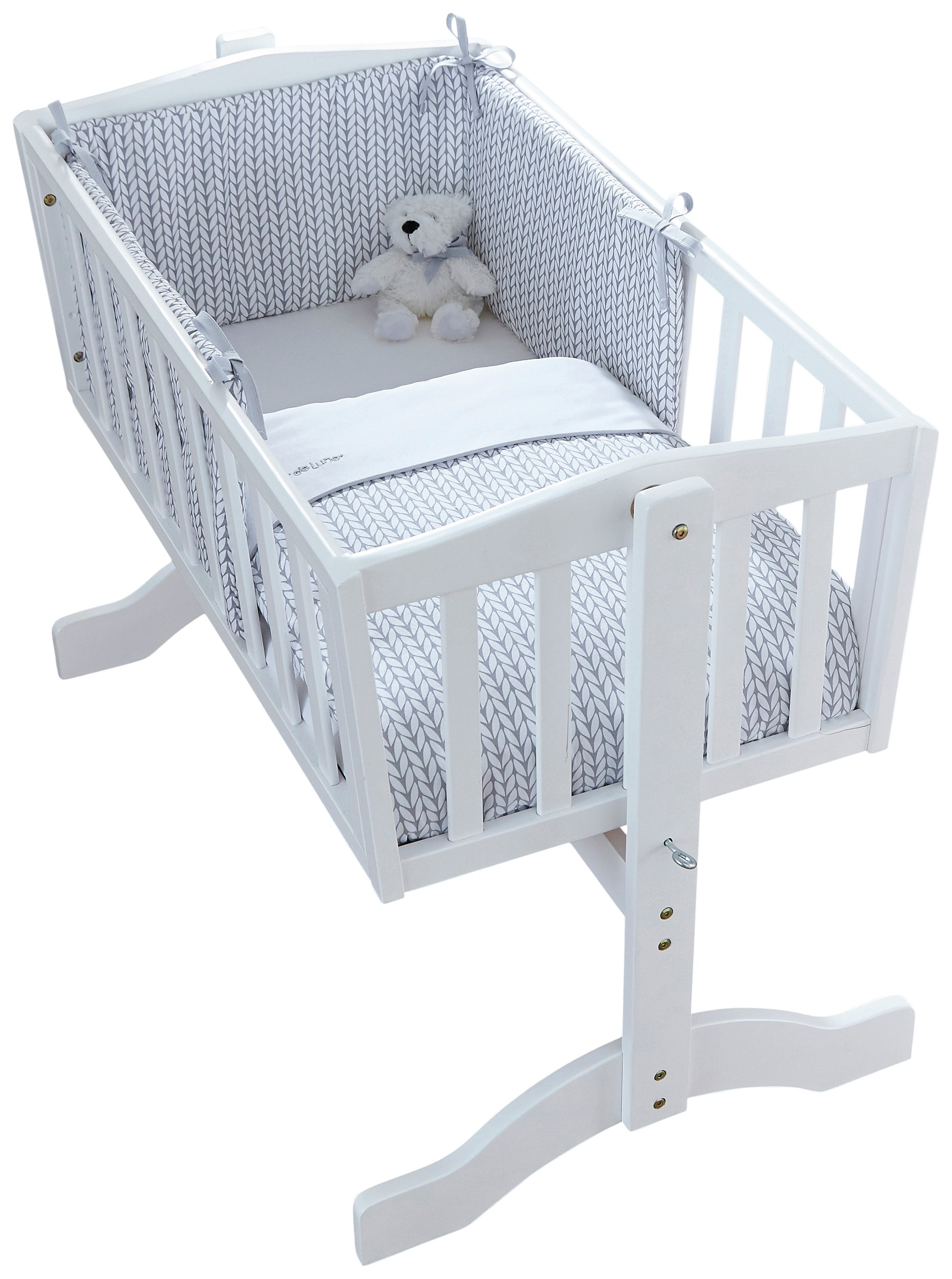 clair de lune barley b b crib bedding set review. Black Bedroom Furniture Sets. Home Design Ideas