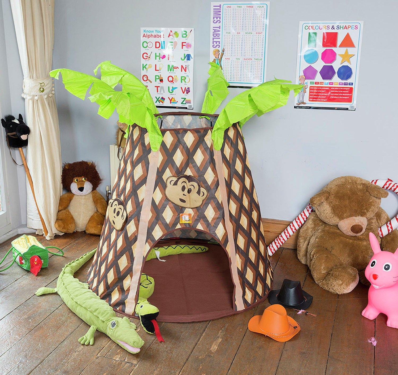 Image of Bazoongi - Palmtree Monkey Hut Playtent