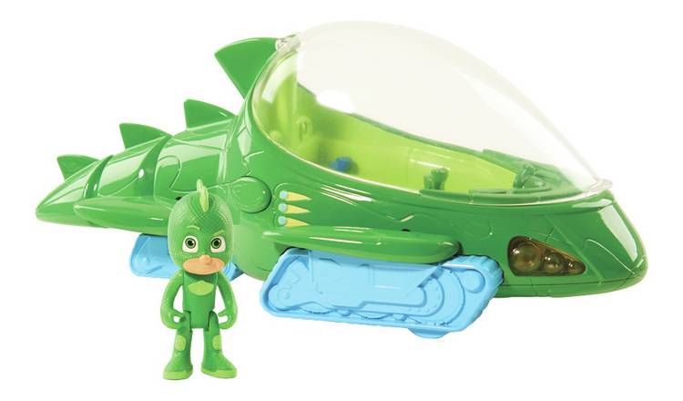 PJ Masks Deluxe Gekko Vehicle with 7.5cm Figure