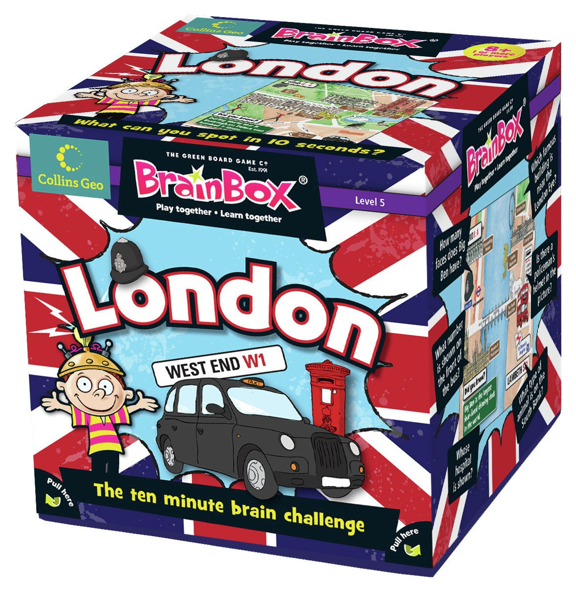 Image of Brainbox London Card Game.