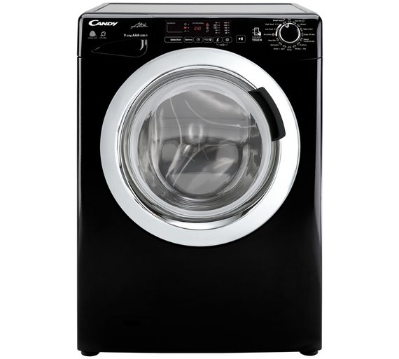 Buy Candy Gvsw496c3b 9kg 6kg 1400 Spin Washer Dryer Black Washer