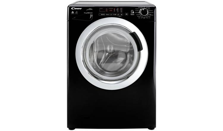 Candy GVSW496C3B 9KG 6KG 1400 Spin Washer Dryer - Black