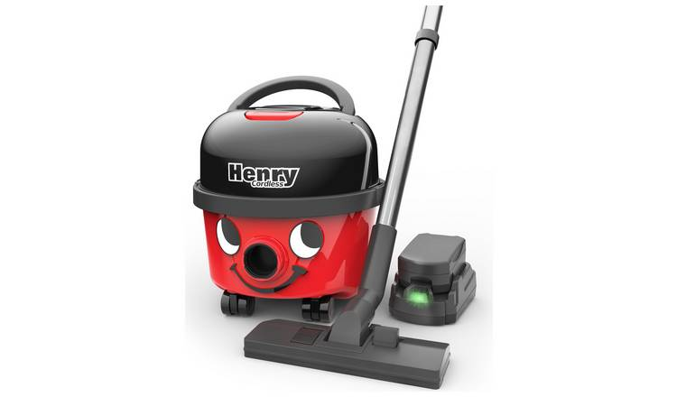 Henry HVB160/2 Bagged Cordless Cylinder Vacuum Cleaner