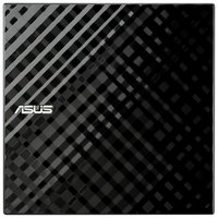 Asus - ZenDrive - U7M - Ultra-Slim External DVD Writer - Black