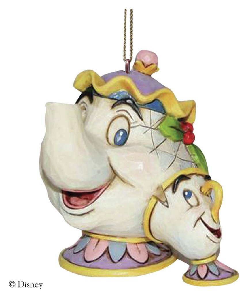 Image of Disney - Traditions - Mrs Potts and Chip Hanging Ornament