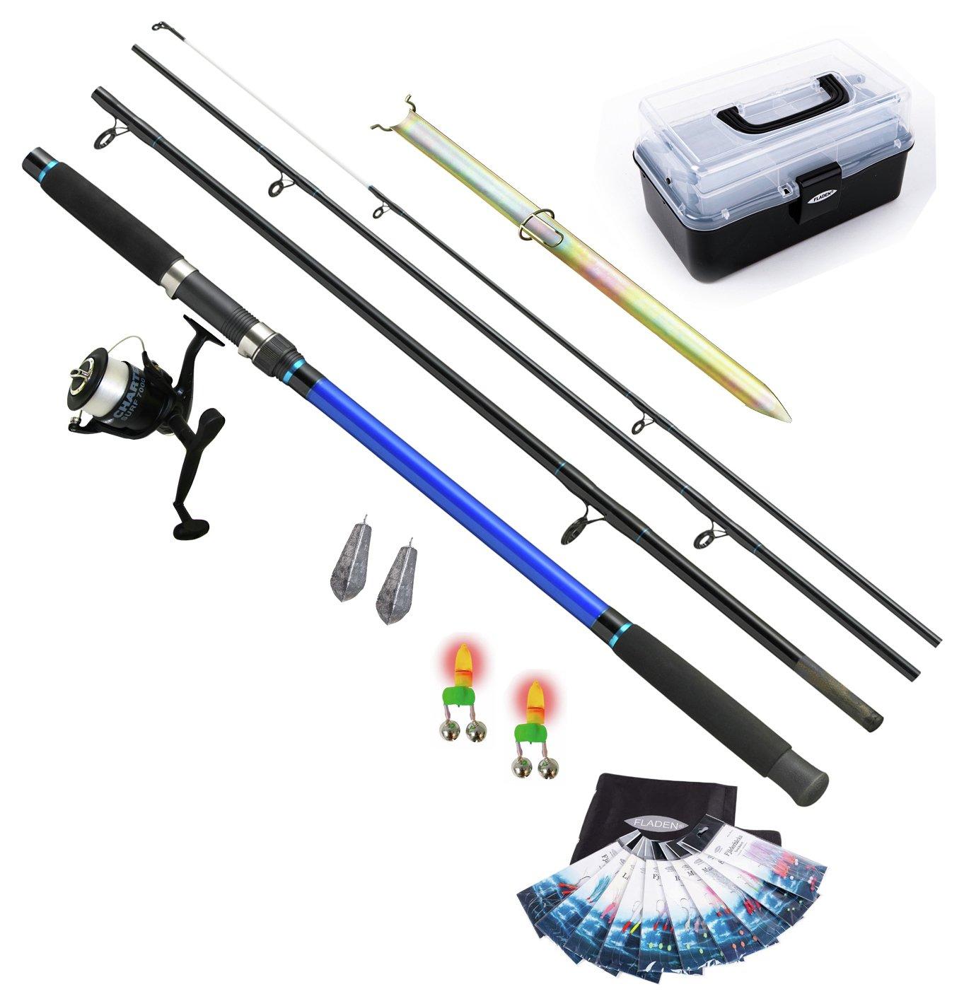 Fladen Beach/Shore Complete Rod, Reel & Accessories Set