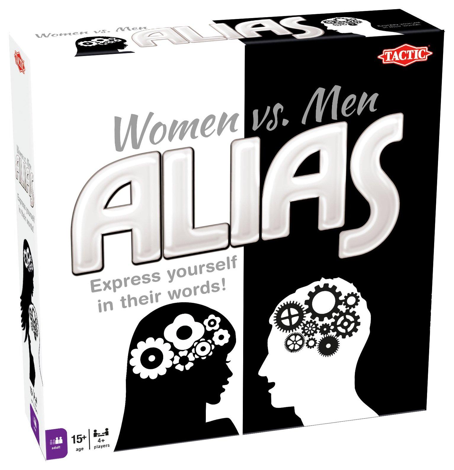 Tactic Games - Alias Women vs Men.