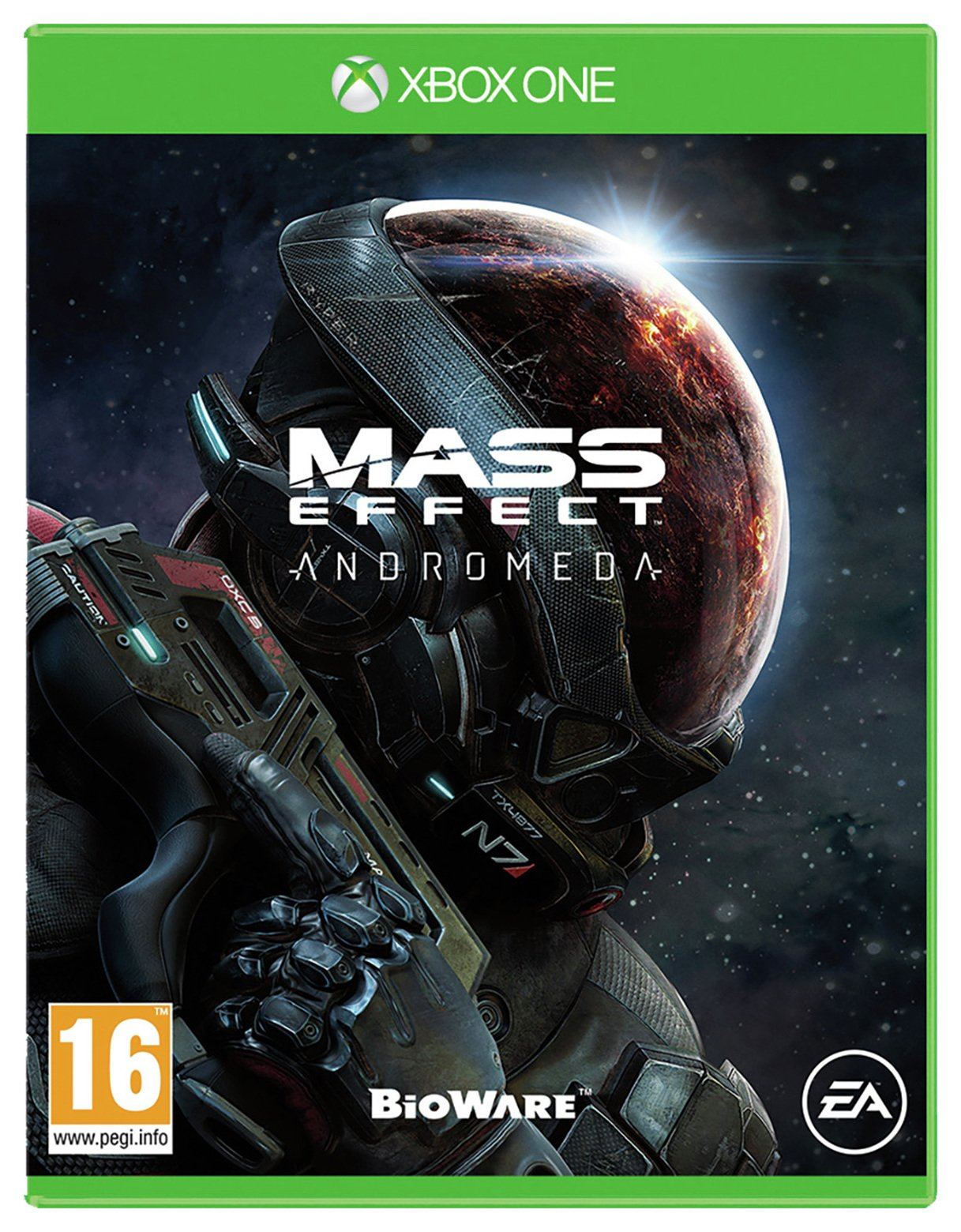 Image of Mass Effect: Andromeda Xbox One Game