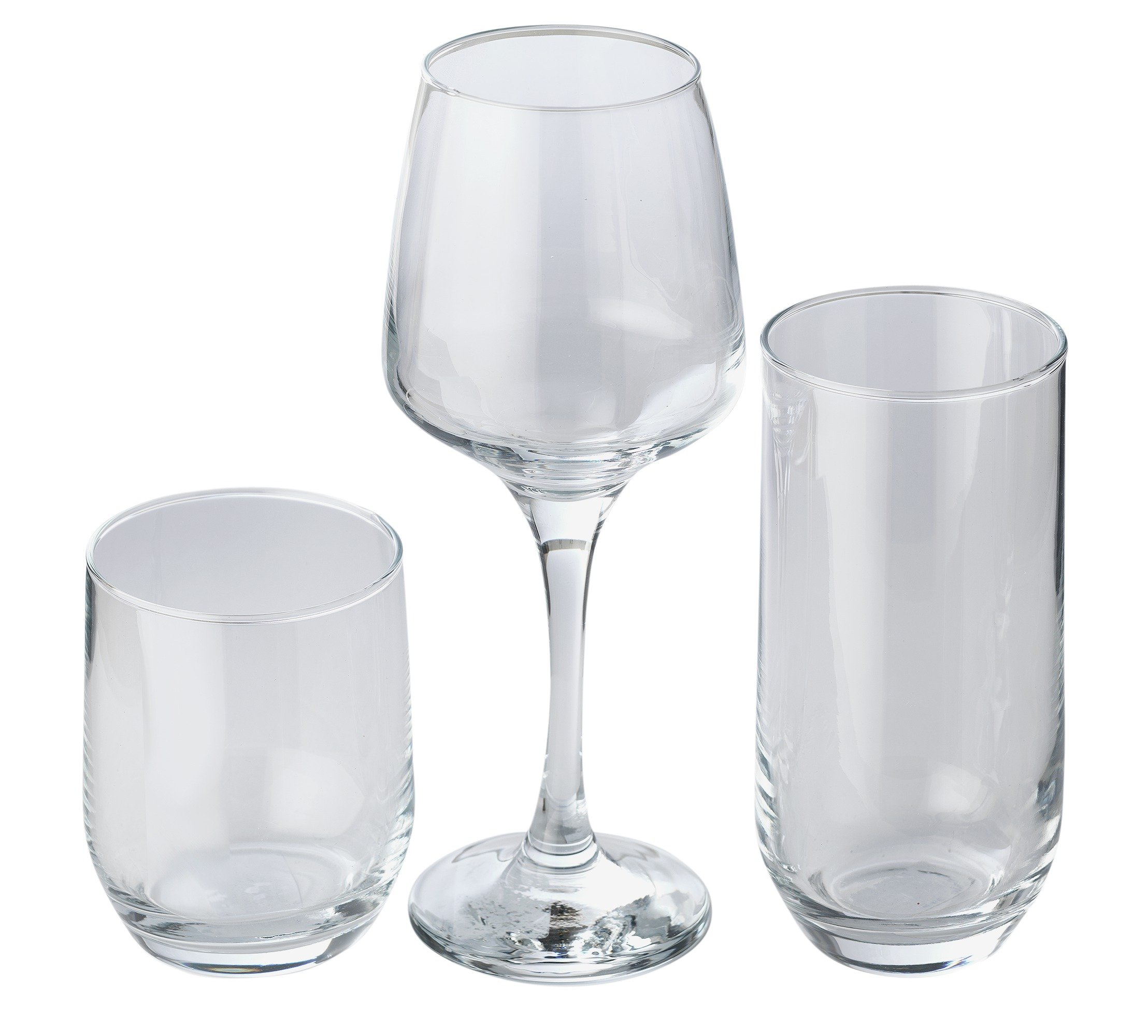 sale on home 12 piece glassware set home by argos now. Black Bedroom Furniture Sets. Home Design Ideas