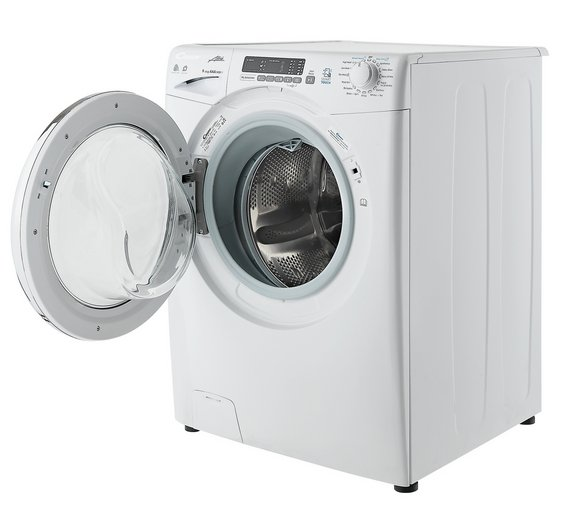 Buy Candy Gvsw496dc 9kg 6kg 1400 Spin Washer Dryer White