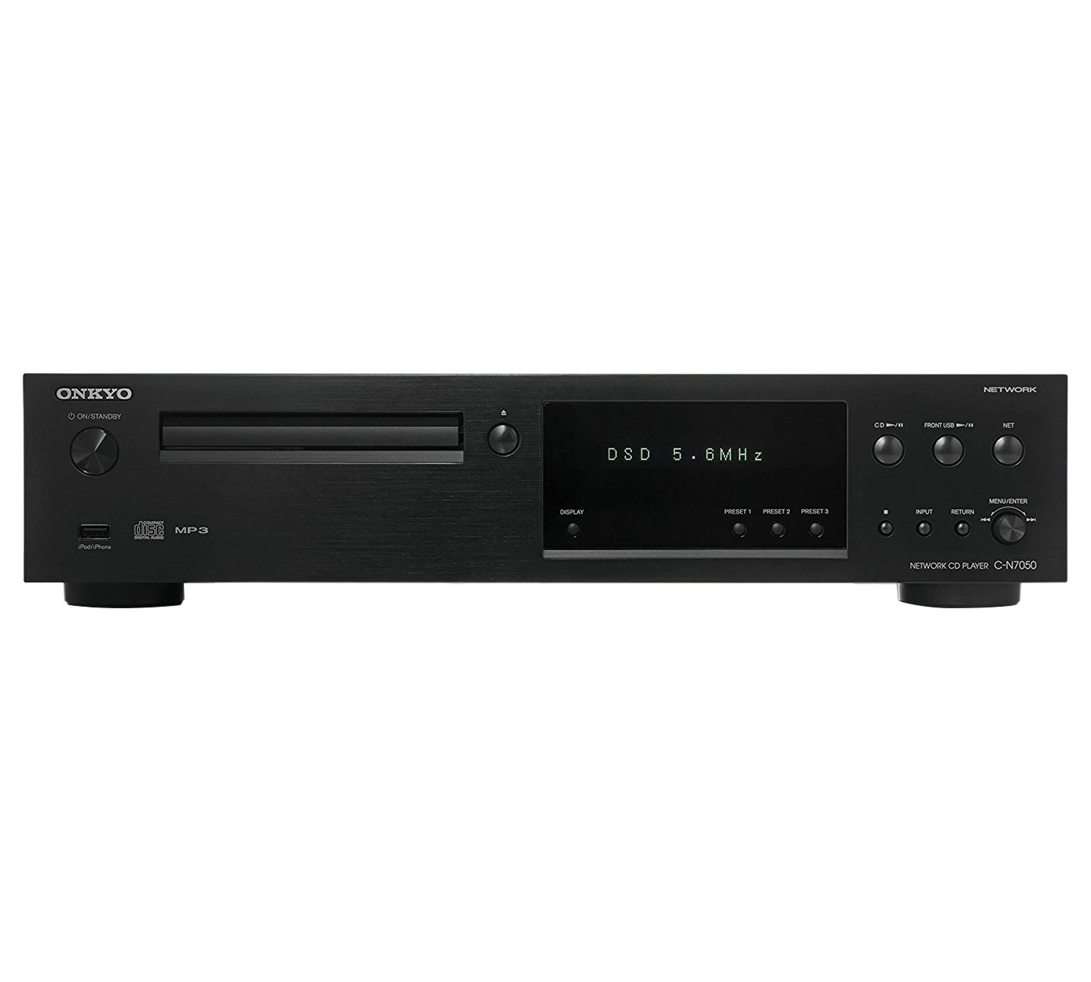 Onkyo C-N7050 CD Internet Radio USB Mini System - Black