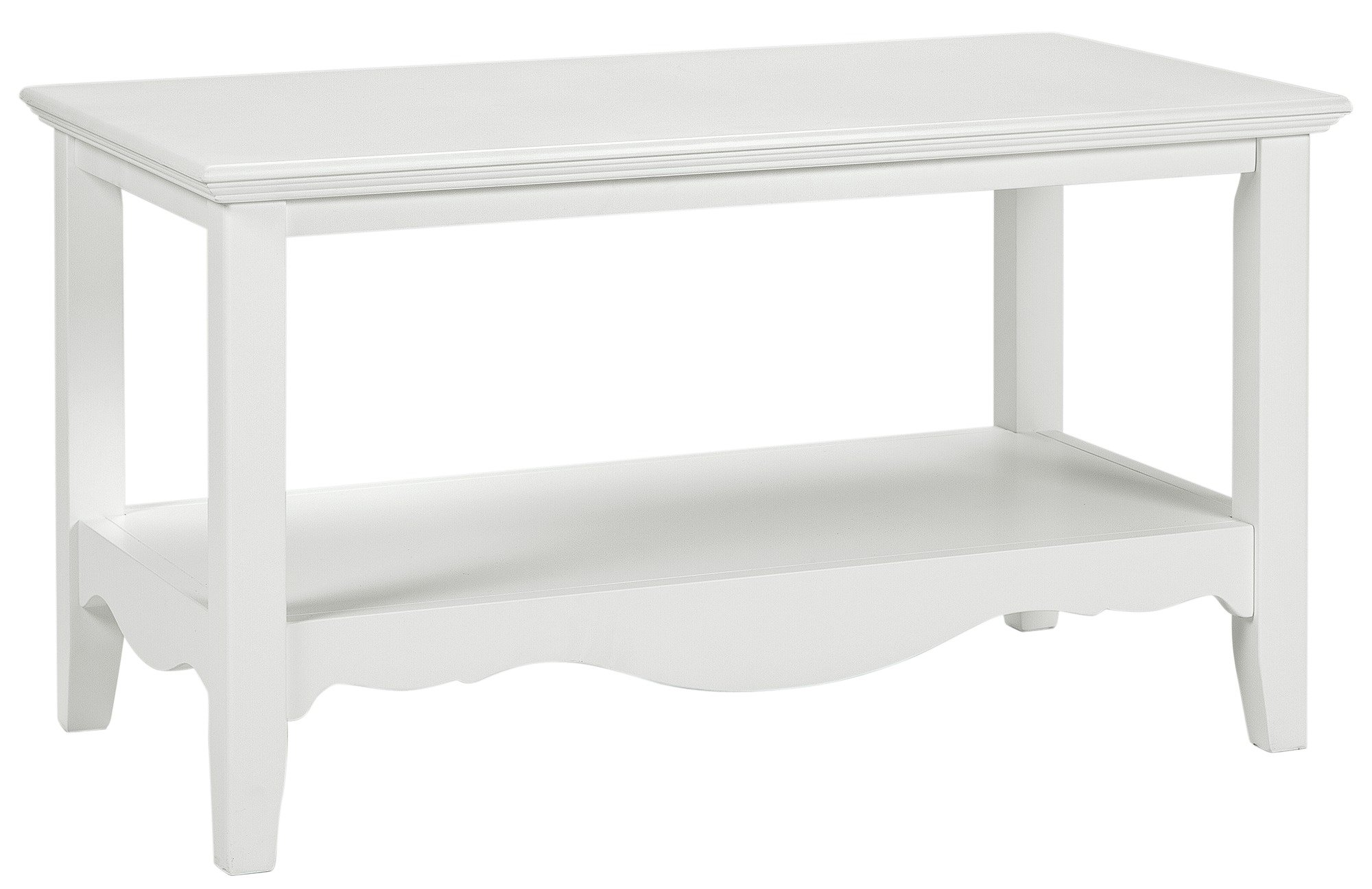 Image of Collection - Romantic - Coffee Table - White