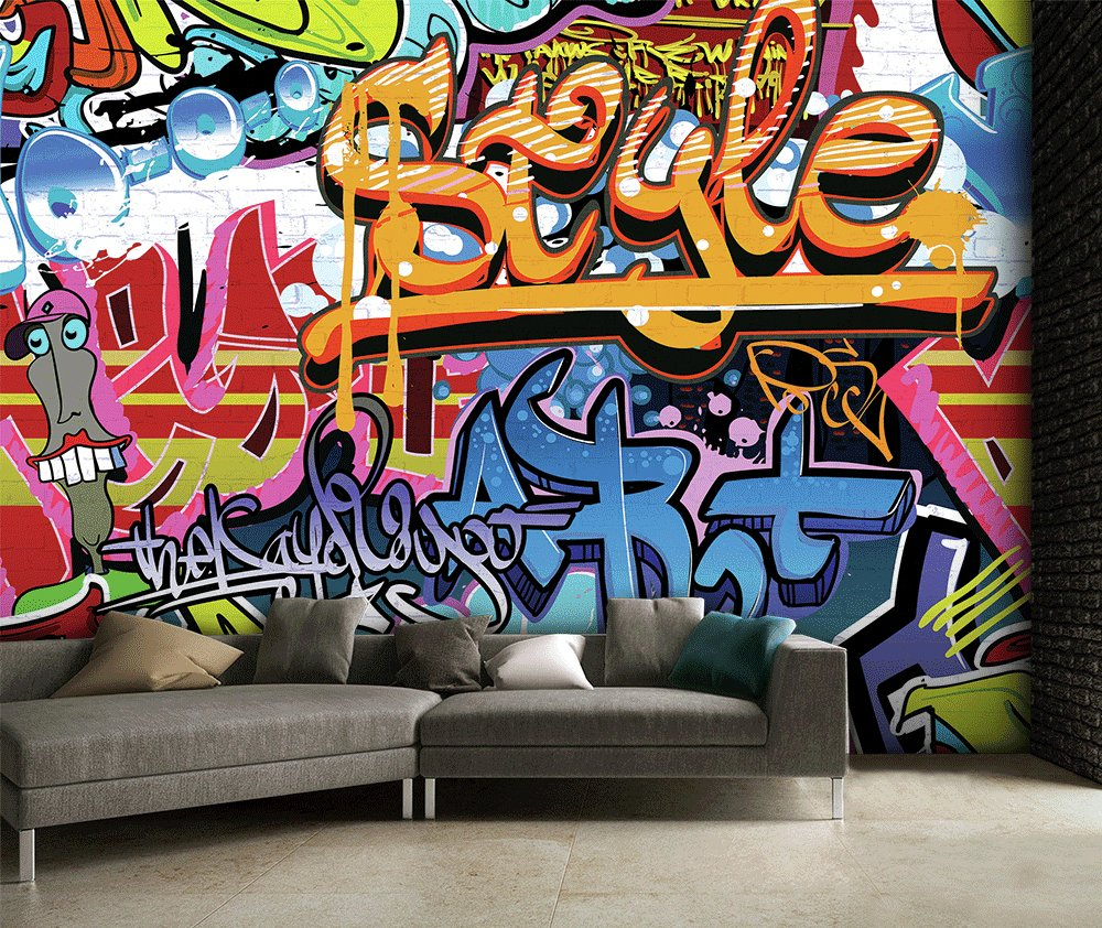 1Wall Graffiti Wall Mural Part 71