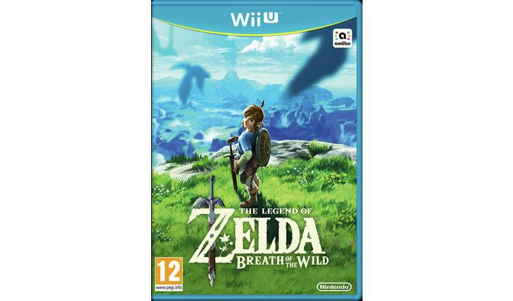 Buy Legend of Zelda: Breath of the Wild Wii U Game | Retro gaming consoles  | Argos