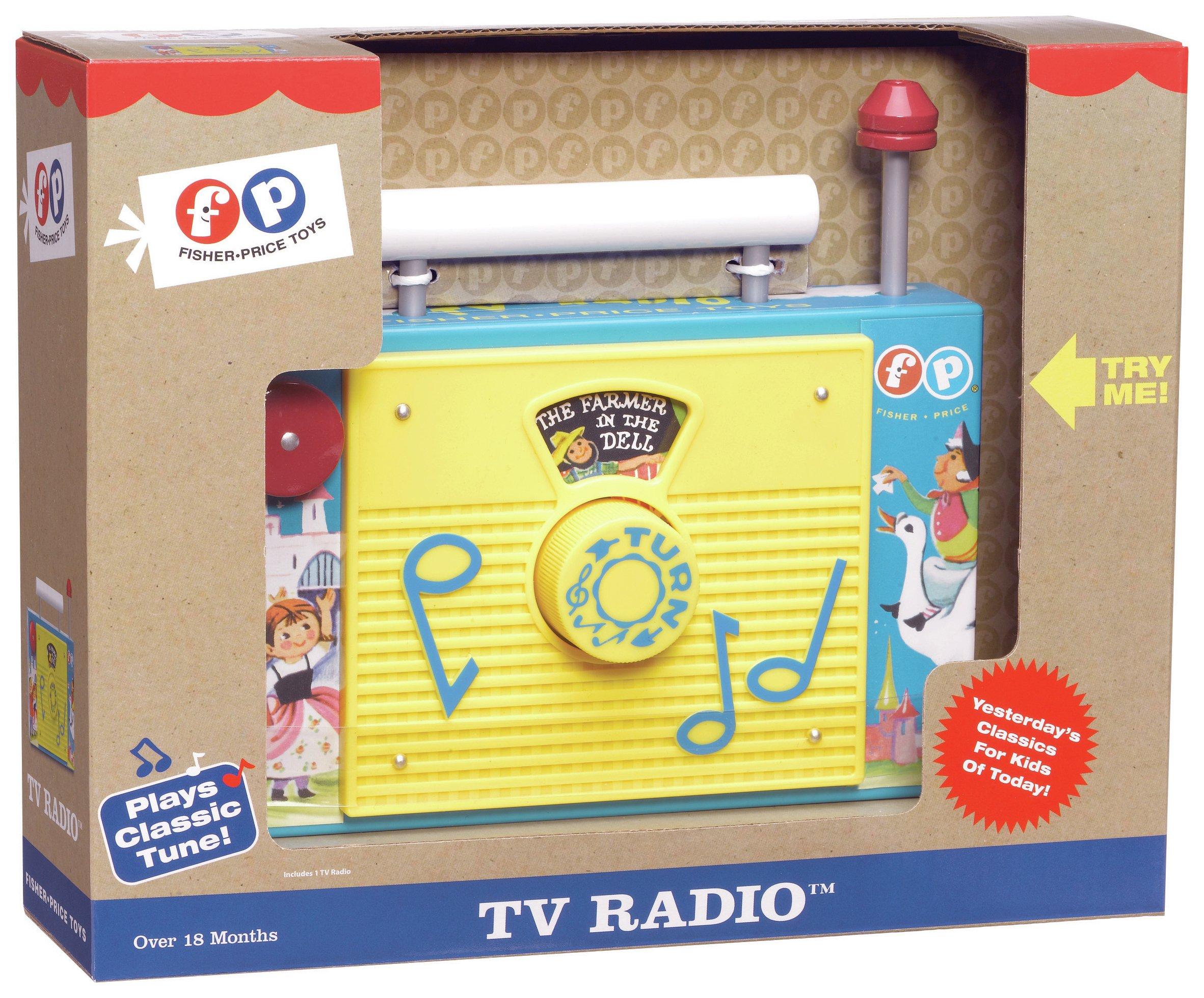 Image of Fisher Price - Classics TV Radio - Game.