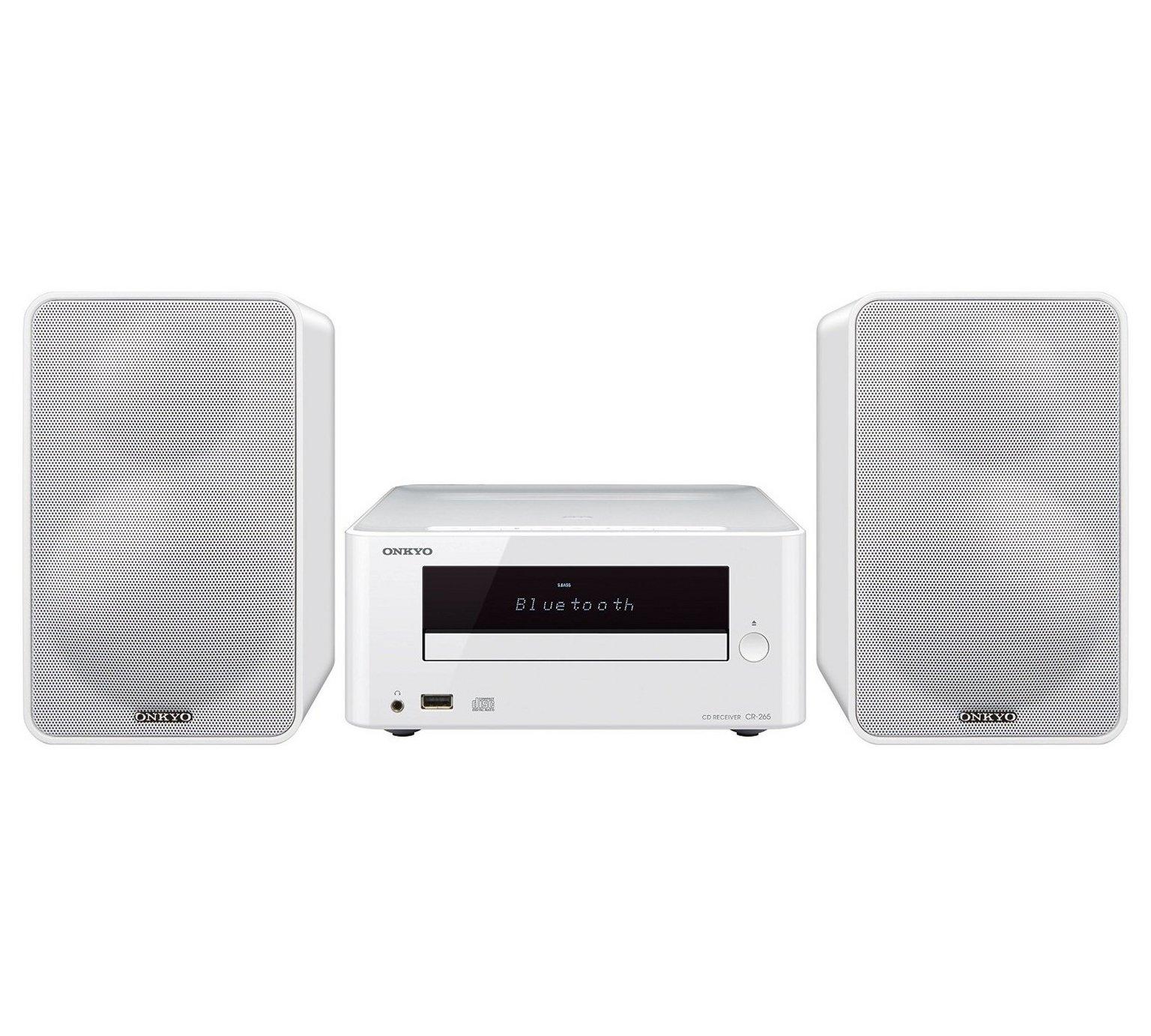Onkyo CS-265 CD DAB USB Mini System - White