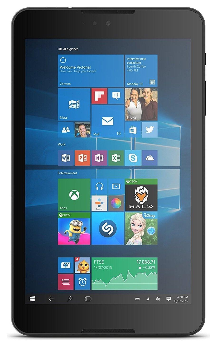 'Linx 820 8 Inch Windows 10 Tablet - Black