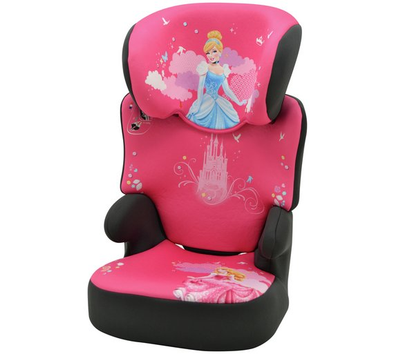 Buy TT Disney Princess Groups 2 3 Black High Booster Car Seat At