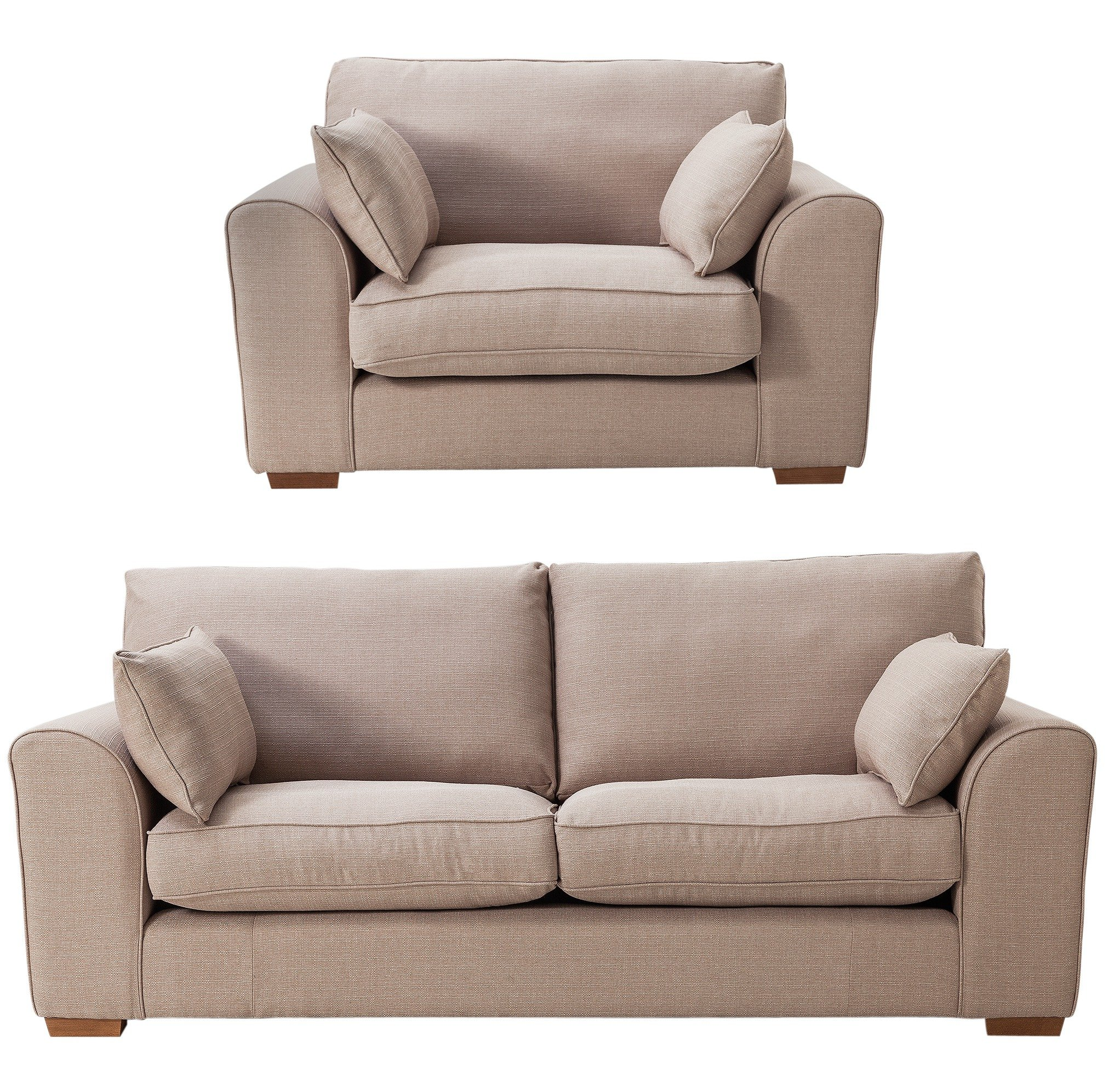 Sale On Collection New Ashdown 3 Seat Sofa And Cuddle