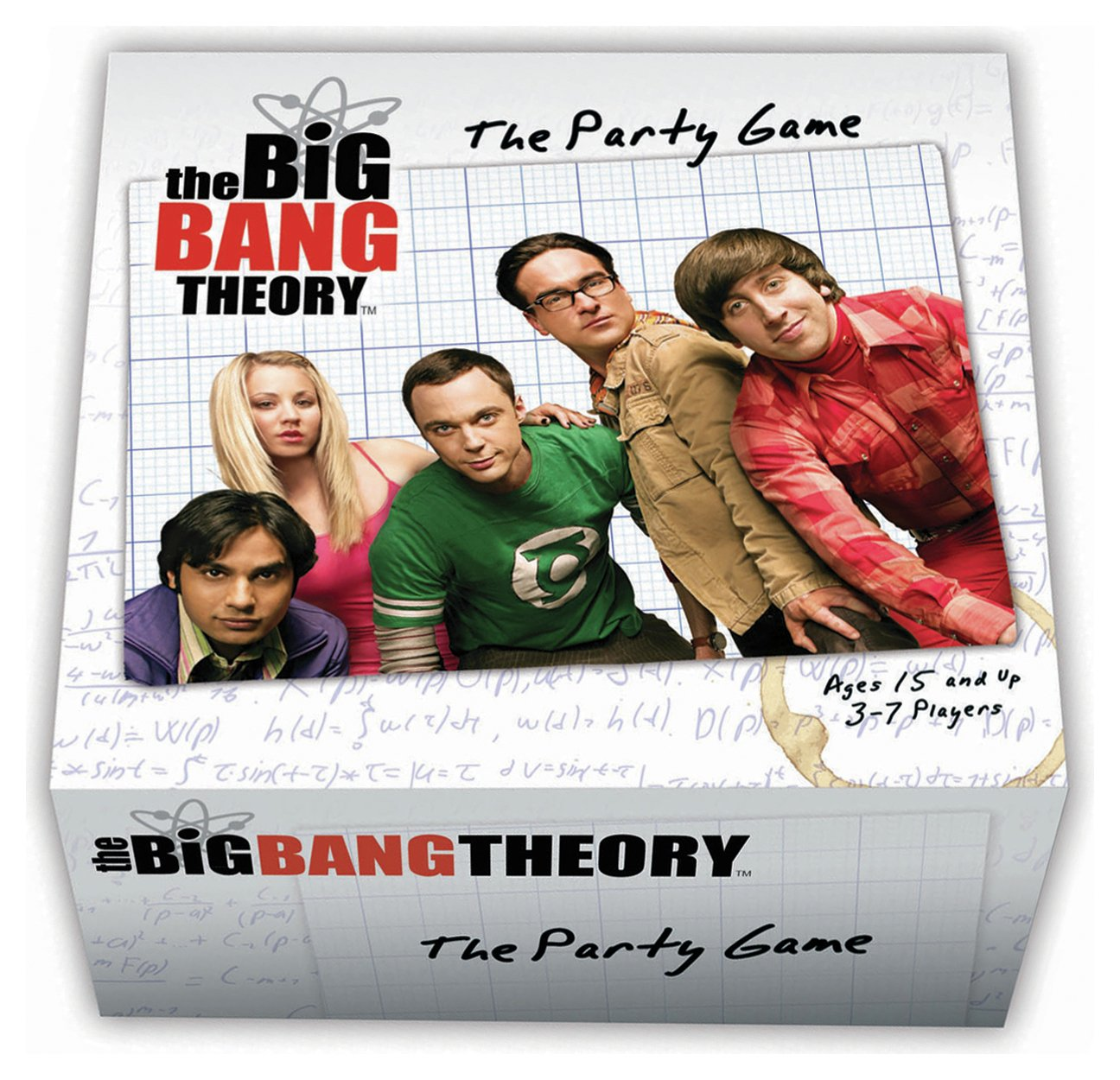 Image of Big Bang Theory Party Game.