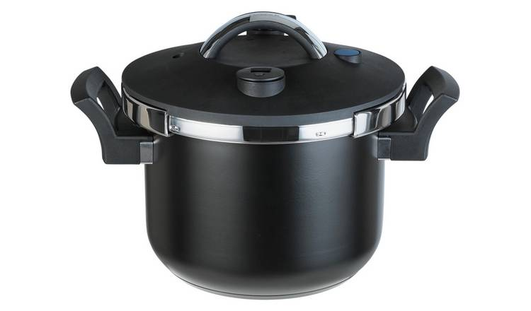 Tower 6 Litre Sure Touch Pressure Cooker - Black