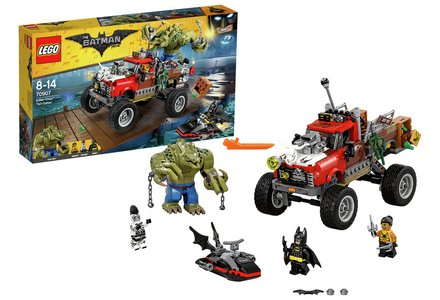LEGO The Batman Movie Killer Croc Tail-Gator - 70907