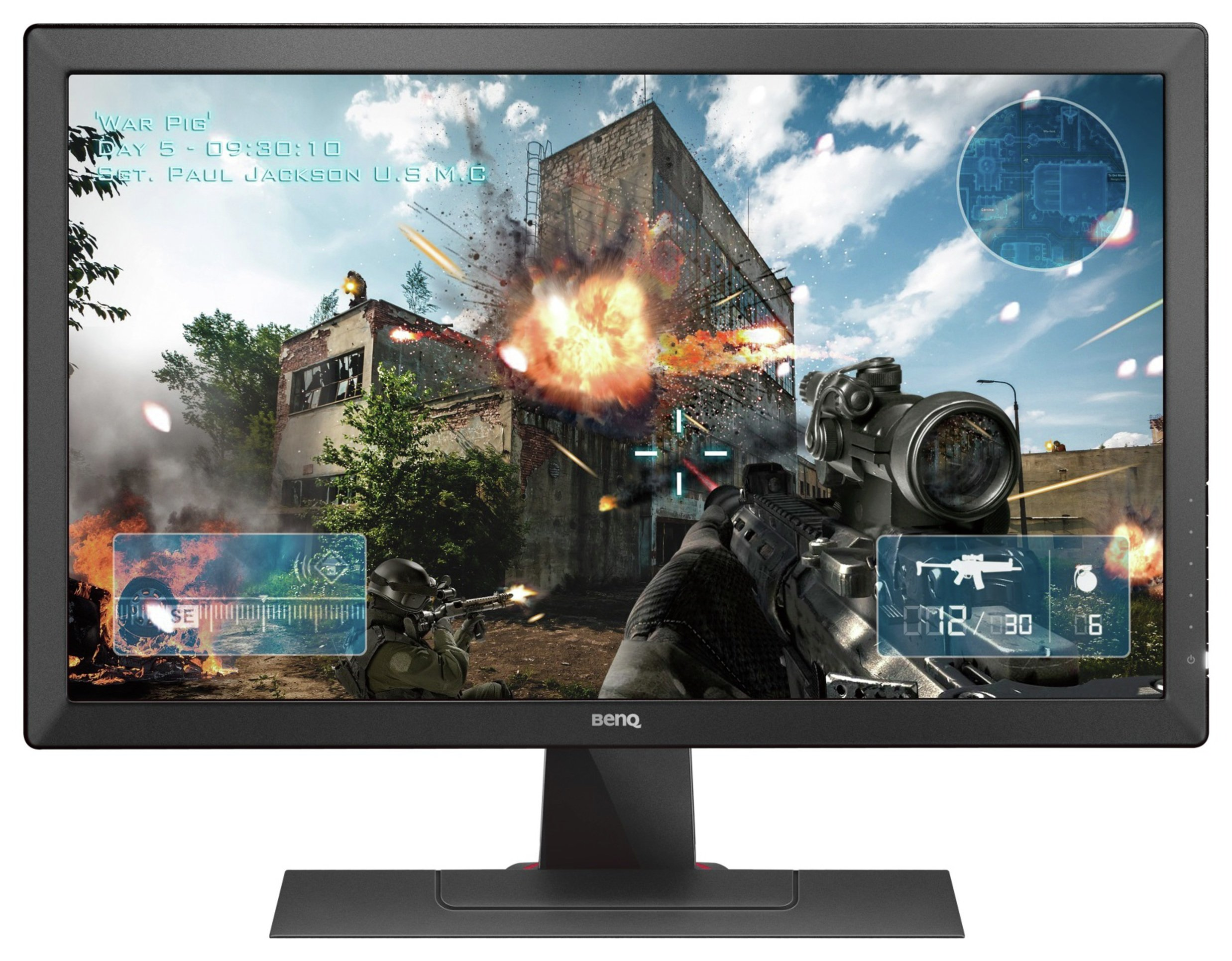 Image of BenQ Zowie RL2455 24 Inch Gaming PC Monitor.