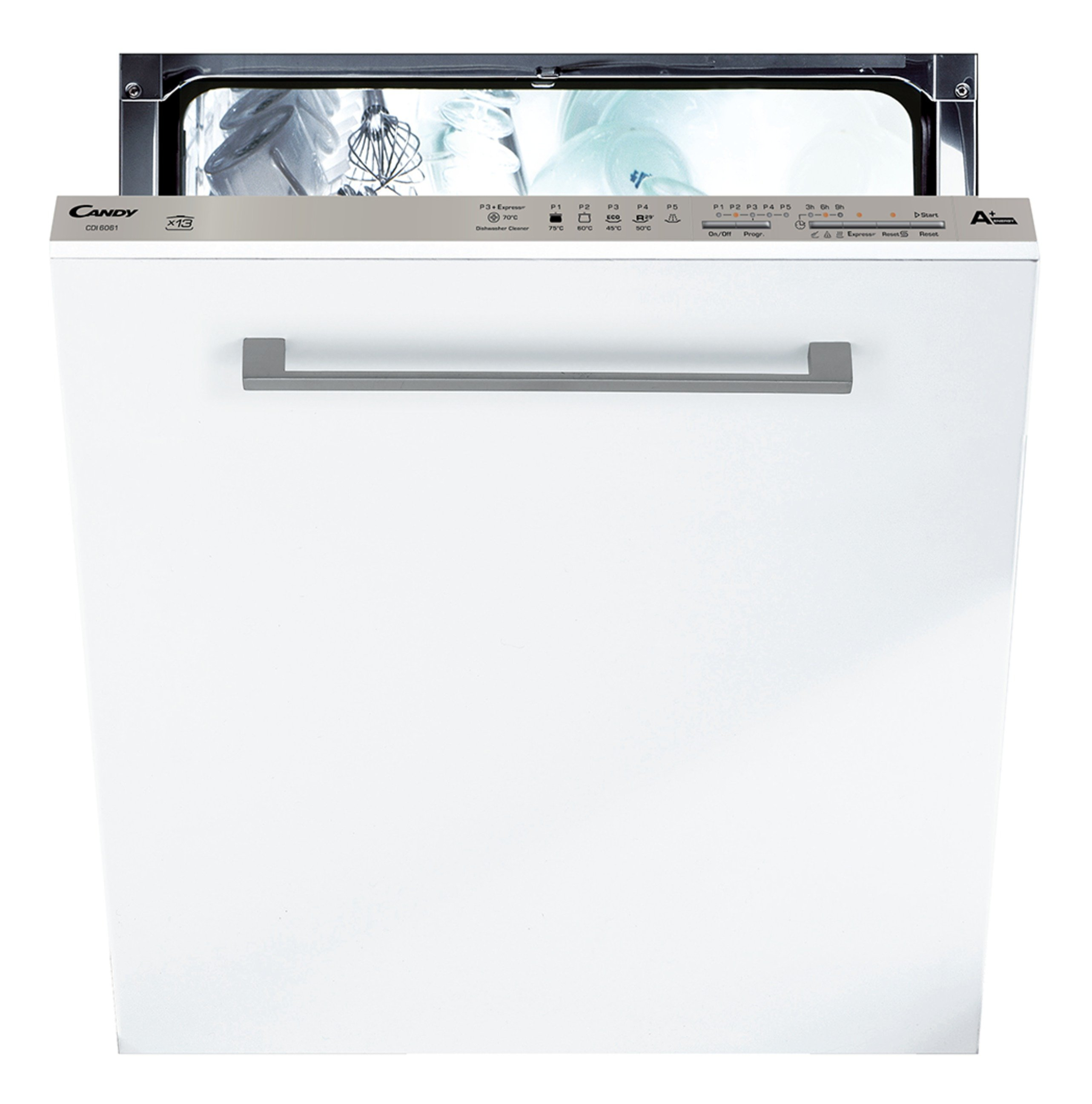 Candy - CDI6061 Integrated Dishwasher - White