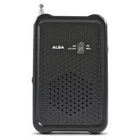 Alba Personal FM Radio - Black