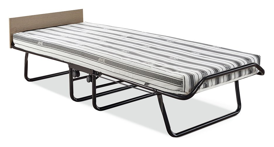 Jay-Be Supreme Automatic Folding Bed e-Fibre Mattress-Single