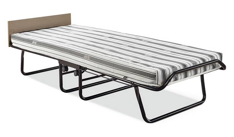 Jay-Be Supreme Automatic Folding Bed e-Fibre Mattress-Single