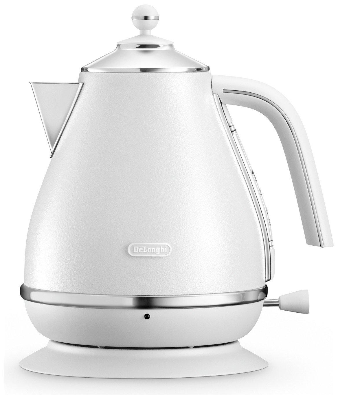 delonghi elements kettle white kettles. Black Bedroom Furniture Sets. Home Design Ideas