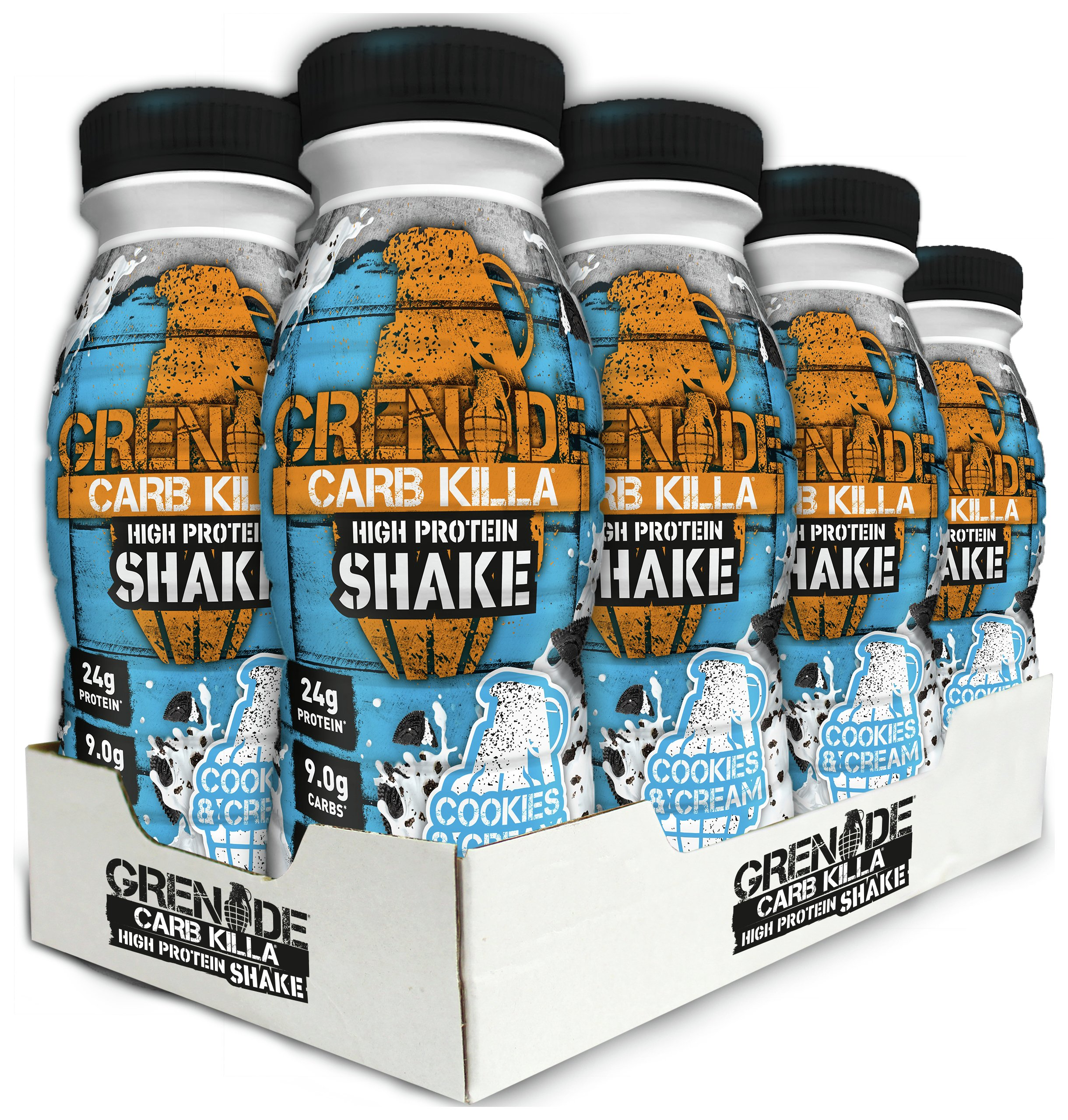 Grenade - Carb Killa Protein Shake - Cookies & Cream lowest price