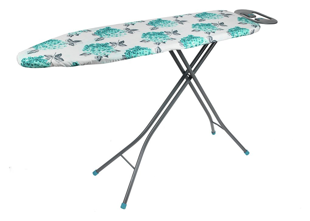 Image of Beldray 137 x 38cm Ironing Board with Iron Rest - Ami Floral