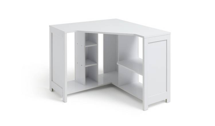 Habitat Conrad Corner Office Desk - White