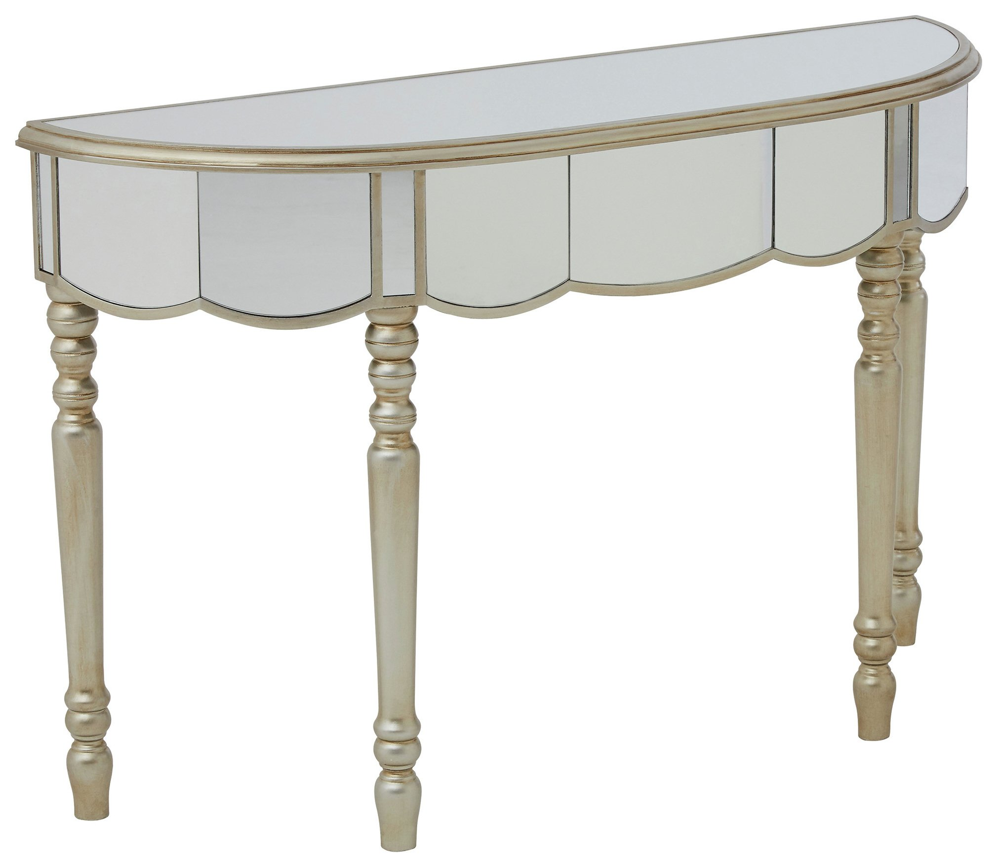 Premier Housewares - Tiffany Mirrored Console Table