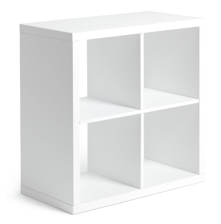 Hygena squares plus 16 cube storage unit white gloss for Hygena vintage kitchen units
