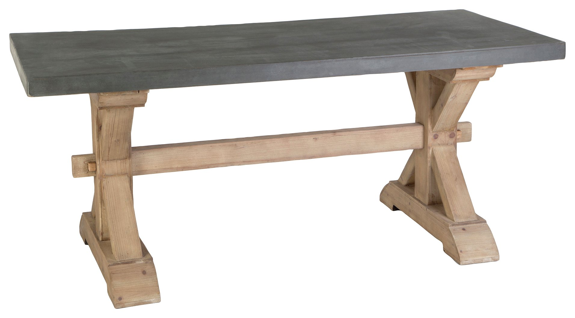 Image of Premier Housewares - Pompeii Dining Table - Grey