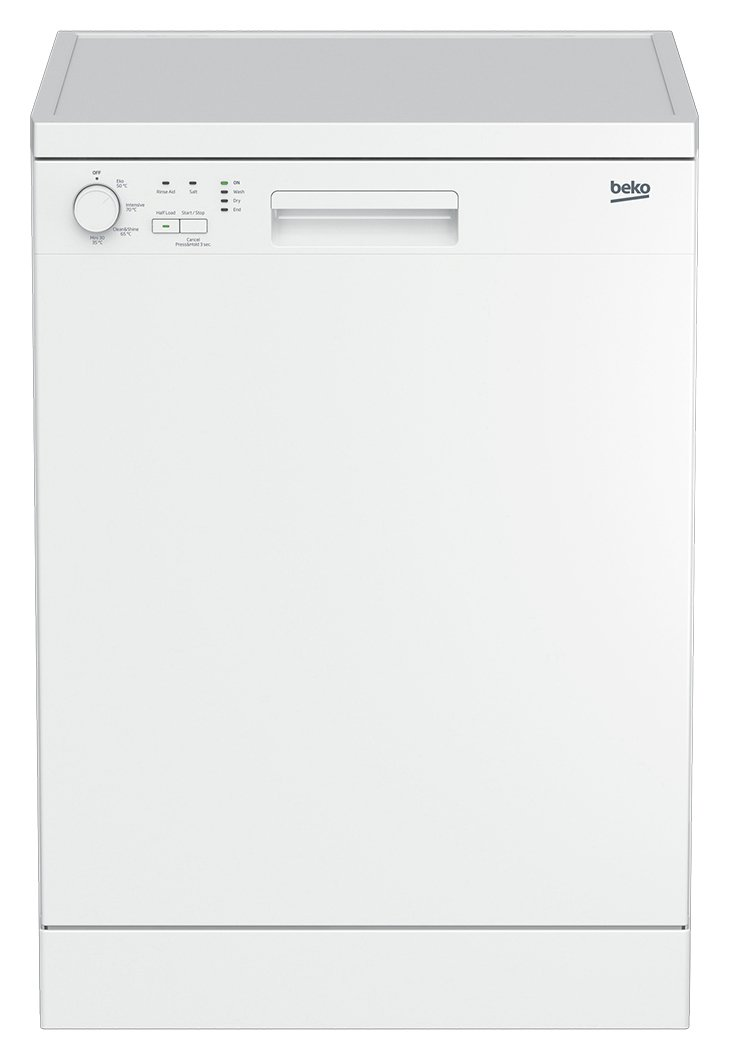 Beko DFN04210W Full Size Freestanding Dishwasher White