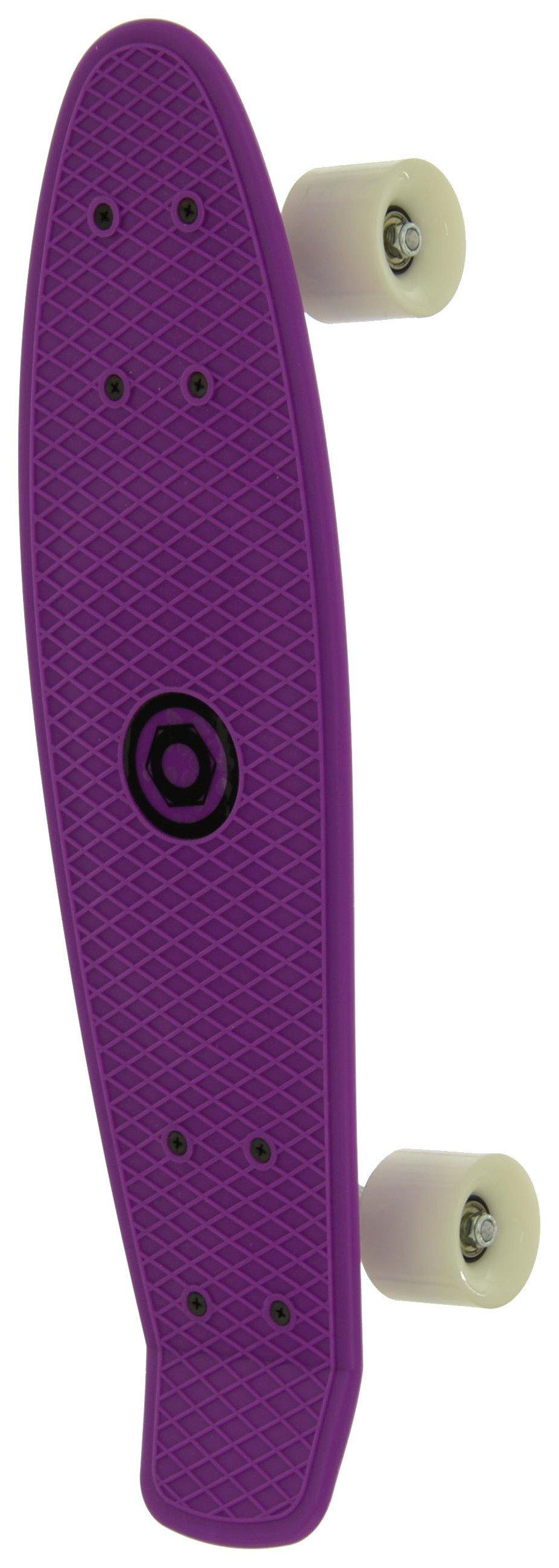 Image of Bored - Neon XT Cruiser Skateboard - Purple